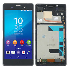 """5.2"""" For Sony Xperia Z3 D6653 D6603 LCD Screen + Touch Digitizer Assembly Frame"""