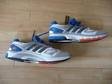 Adidas Supernova Sequence Zapatillas, Azul Blanco, Plata, Uk Size 19, nuevo