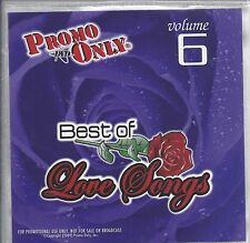 """PROMO ONLY- NEW! DVD 70s ~ 90s """"LOVE SONG VOL. 6"""" MUSIC VIDEO"""