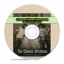Camera Work Magazine, 50 Vintage Magazines, 1903-1917 Classic Art Photos DVD D06