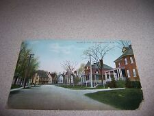 1910 MOORE STREET VIEW SHERBROOKE QUEBEC ANTIQUE POSTCARD
