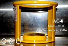 GRIFTAN ACETYLENE CYLINDER SAFETY CAP AC-8 COARSE THREAD - DOT OSHA MSHA