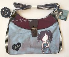 "GORJUSS ""LOST FOR WORDS"" SLOUCHY SHOULDER BAG BNWT"
