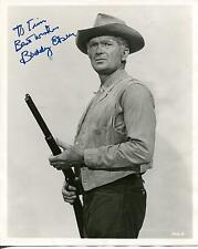 """BUDDY EBSEN  """"THE BEVERLY HILLBILLIES"""" JED CLAMPETT ACTOR SIGNED PHOTO AUTOGRAPH"""