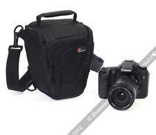 Lowepro Toploader Zoom 50 AW DSLR Camera Holster Shoulder Bag Case & Rain Cover
