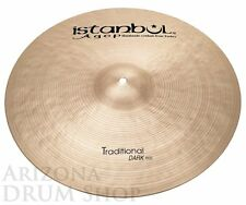 "Istanbul AGOP Traditional 21"" DARK Ride 2,086 gram (DR21)  NEW - In Stock!"