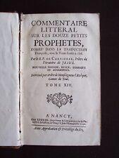 Commentaire littéral sur les douze petits prophètes - T.14