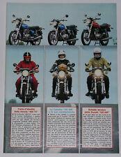 Article Articolo 1978 HONDA CB 400 T2 - YAMAHA XS 400 - SUZUKI GS 400