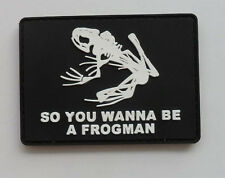 Hot US ARMY NAVY SEAL SKELETON FROG MORALE ACU 3D RUBBER   PATCH  SK  51