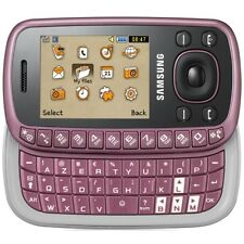 Samsung GT-B3310 Deep Purple without SIM - Lock) QWERTY keyboard - NEW - NUOVO