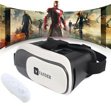 New VR Box 2.0 Version Virtual Reality 3D Glasses Game+Bluetooth Remote Control