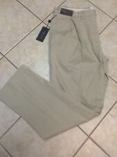 Polo Ralph Lauren Mens Core Classic Fit Pleated Chino Pant Tan 34 x 34 NWT $89