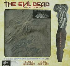 THE EVIL DEAD ANTHOLOGY gift set -  Blu Ray - Sealed Region B