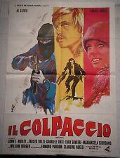 Manifesto IL COLPACCIO 1° EDIZ.ITAL.1976 CLIVER TOZZI TINTI DIMITRI GIORDAN0 2F