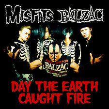 Day the Earth Caught Fire [Single] [Limited] by Misfits (U.S.)/Balzac (CD,...