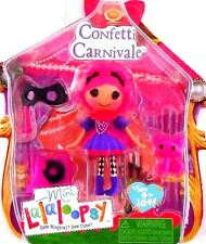 NEW! Mini Lalaloopsy Figure Doll Series Confetti Carnivale Costume Accessories
