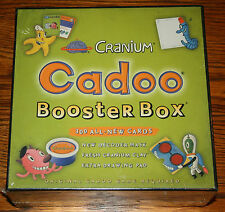 NEW SEALED CRANIUM CADOO BOOSTER BOX 300 ALL-NEW CARDS FOR CADOO