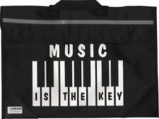 Piano Keyboard Music School Bag Case Holdall BLACK Musician Gift