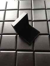 WHOLESALE JOBLOT 20 JEWELLERY GIFT BOXES BLACK HINGED EARRING, PENDANT, BROOCH