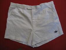Short Adidas Tennis ATP blanc Made in Hong Kong Vintage Trefoil Ancien 80'S - 46