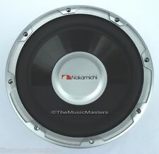 "(1) Single 10"" Car Audio 1000W Woofer Subwoofer NAK Premium Bass Speaker SPW25S"