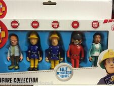 NUOVO POMPIERE SAM 5 Imballare SNODATO FIGURE Norman, PENNY, Sam, Tom & INFERMIERA Flood