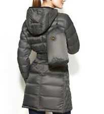 MICHAEL Michael Kors Hooded Packable Down Puffer Coat PS, Rock Gray, was $240