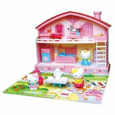 Hello Kitty House with Furnishings - Everything Needed for Hours of Play