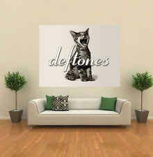 Deftones Screaming Cat band album  GIANT WALL POSTER ART PRINT A190