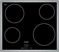 Bosch Kochfeld Autark Touch Control Edelstahl Rahmen Glaskeramik Kochfeld NEU