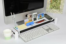 iStick Multifunction Home Office Desk Cubicle Stationery Organizer USB Hub White