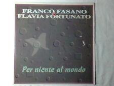 """FRANCO FASANO FLAVIA FORTUNATO Per niente al mondo 12"""" NUOVO HOLLAND"""