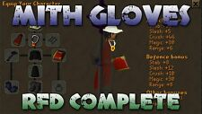 Runescape Osrs Mith Gloves With Requirements Service Guide