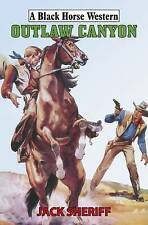 Jack Sheriff Outlaw Canyon (Black Horse Western) Very Good Book