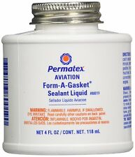 Permatex Shellac Aviation Gasket Sealant Dressing Oil Fuel Water pump sealant
