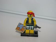 LEGO Mini Figures Series 16 Scallywag Pirate with Map and Cutlass 71013