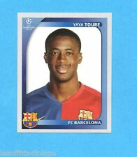 PANINI-CHAMPIONS 2008/2009-Fig.102- YAYA TOURE - BARCELLONA -NEW BLACK
