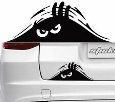 Car Body Vinyl  Dune Strange Scratches Black Dune Anger Peeking Monster Sticker