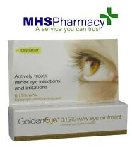 2 x Golden Eye 0.15% Eye Ointment 5g Conjunctivitis & Blepharitis Eye Infections
