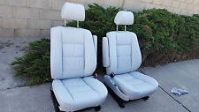 BMW E34 540 535 525 COMFORT SEAT KITS 100% LEATHER UPHOLSTERY KITS NEW BEAUTIFUL