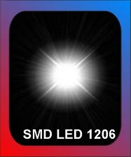 50 x SMD LED Bauart 1206   weiss white