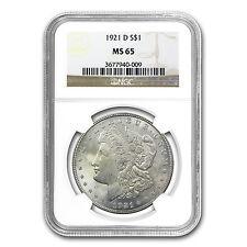 1921-D Morgan Dollar MS-65 NGC - SKU #25293
