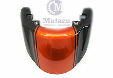 Orange & Black Rear Solo Seat Cover for Suzuki Boulevard VZR 1800 M109R 2006-UP