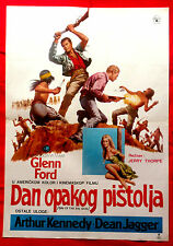 DAY OF THE EVIL GUN 1968 GLENN FORD ARTHUR KENNEDY DEAN JAGGER EXYU MOVIE POSTER