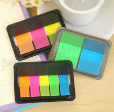 50 Pages Colorful Post It Bookmark Marker Memo Flags Index Pad Tab Sticky Notes