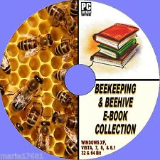 50+ RARE ANTIQUE & MODERN BEEKEEPING BEE HIVES APIARY HONEY BOOK RESOURCE CD NEW