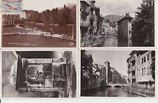 Lot 4 cartes postales anciennes ANNECY 3