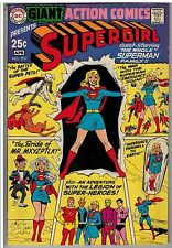 ACTION COMICS #373 ( 1969 ) GIANT ALL SUPERGIRL ISSUE ( LEGION OF SUPER HEROES )