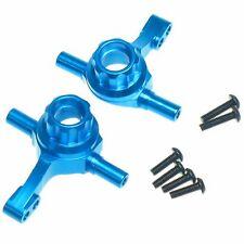 RC Car TT-02 Blue Aluminum Upgrade Hop Up Front Knuckle For Tamiya TT02 tt 02 UK