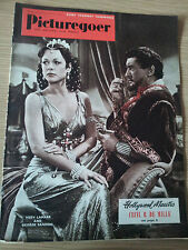 PICTUREGOER FILM MAGAZINE Cover HADY LAMARR & GEORGE SANDERS
